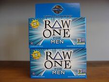Garden of Life RAW One for Men 75 Capsules Lot of 2