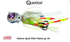 KABURA JIG - SQUID KILLER 40 GR BIANCO QUANTUM VERTICAL