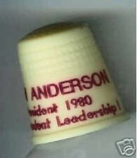 John ANDERSON 1980 THIMBLE 3rd Party President