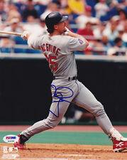 Mark McGwire SIGNED 8x10 Photo St. Louis Cardinals PSA/DNA AUTOGRAPHED