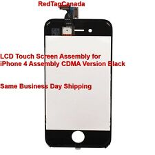 LCD Touch Screen Digitizer Glass Assembly for iPhone 4 CDMA Black SKU# 87002958