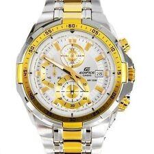 Casio Edifice Luxury Chronograph Classic White Mens Watch EFR-539SG-7AV