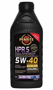 Penrite HPR 5 SAE 5W-40 Engine Oil 1L fits Lotus Esprit 2.0 (S2), 2.0 GT3 (S4...