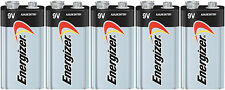 5 FRESH Energizer Max 9V 9 Volt E522 1604 Alkaline Batteries EXP 2023