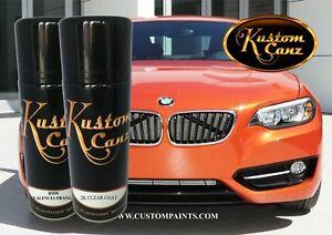BMW VALENCIA ORANGE 12oz AEROSOL KIT. MOTORCYCLE, AUTOMOTIVE, HOK, Automotive