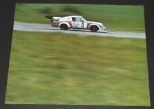 MARTINI RACING PORSCHE 911 CARRERA RSR Original Factory Showroom Dealer Poster