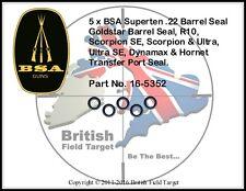 BSA Superten .22 Barrel Seal Goldstar Barrel Seal, R10, Scorpion SE, Scorpion
