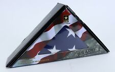 """Clean U.S. American Army Strong Fmaa Flag with Embroidered Stars 59"""" x 35"""""""