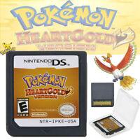 Pokemon: HeartGold Version Nintendo DS 2010 BRAND NEW USA FSAT SHIP US Gift