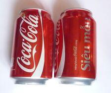 Coca Cola can VIETNAM Collector Share SIEU MAU Supermodel 2014 Collect Coke Asia