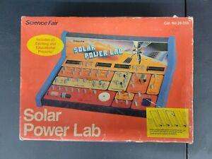 Vintage Science Fair Solar Power Lab Radio Shack 1980s ORIGINAL BOX R