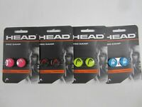 "HEAD ""PRO DAMP"" SHOCK ABSORBER/VIBRATION DAMPENER FOR TENNIS RACQUET (4 COLORS)"