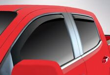 In-Channel Vent Visors for a 2004 - 2012 Chevrolet Colorado Crew Cab