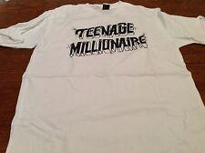 Vintage TEENAGE MILLIONAIRE T shirt SMALL Teenage millionaire new w/ tags WHITE