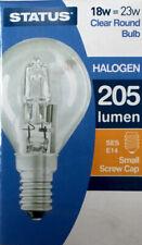 Status Halogen globe round ses 18w=23w x10 bulbs