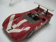 RD Marmande Lola T160 Surtees Chevrolet Roadster CanAm '68-69 Wood (France) Red