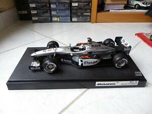 Mclaren Mercedes MP4-15 David Coulthard #2 2000 1/18 Hotwheels F1 Formula 1