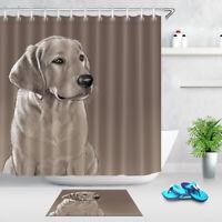Halloween Bathroom Waterproof Fabric Shower Curtain 12 Hooks /& Bath Mat 3312