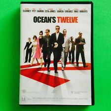 OCEAN'S TWELVE LIKE NEW DVD AUSSIE SELLER FREE POSTAGE