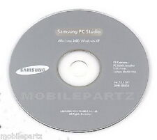 Genuine Samsung PC Studio Software V 3.12 for D600 D900 F520 P520 XP Compatible