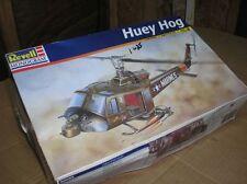 huey hog gun ship-u.s marines vietnamveteranen era 1/48 vintage revell nib