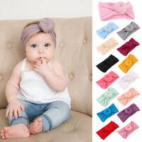 Kids Baby Girl Toddler Twist Knot Turban Headband Hair Band Headwear Accessories