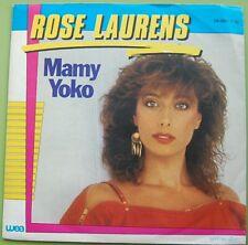 "Single 7"" Rose Laurens - Mamy Yoko - Mega Kult Top Hit aus dem Jahr 1983"