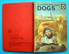 A Ladybird Book About Dogs vintage nature animals pets breeds hunting history..