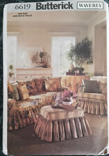 Brand New Butterick Slipcovers Pattern