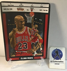 Michael Jordan Upper Deck collectors plate limited edition #25000 Bulls hof  JE