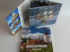 TSCHECHIEN 2018 KMS COIN SET ST BU - CESKA REPUBLIKA - TSCHECHISCHE REPUBLIK