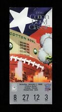 >orig. 1996 Cotton Bowl FULL FOOTBALL TICKET Oregon Ducks vs Colorado Buffaloes