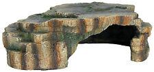 Flat Rock Fish Cave Aquarium Decoration Vivarium Reptile Basking Hide 24cm