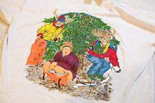 Vintage 1996 Single Stitch Hunter Deer Parody Shirt Toilet Paper XL Cartoon