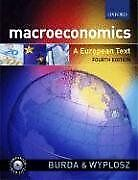 Macroeconomics: A European Text-Michael Burda, Charles Wyplosz, 9780199264964