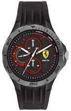 Scuderia Ferrari | Pista Voor Heren | Zwarte 0830725 Horloge
