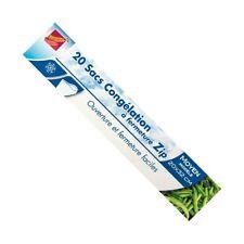 PUBLI EMBAL - Sac de congélation avec zip - x20 - moyen modèle - 20x32 cm