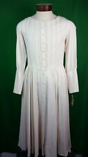 Inter-American Trading Ivory/Natural Romantic Pioneer Dress Size M