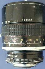 Nikon 135mm f2 AI Lens BOKEH. Optically VGC adapts to M43, Canon, Sony, Fuji.