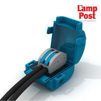 Wiska MJB112 - 2 Mini Gel Insulated Junction Box Shellbox 2 Pole Lever Connector
