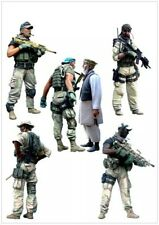"1:35 Modern US Special Forces and Local Man ""Tensions Run High"" Resin Model Kit"