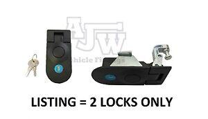 2 X Compression Latch Lock LARGE Horsebox Locker Doors Tack Box Like SOUTHCO C5