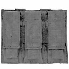 NcSTAR Gray Triple MOLLE PALS Pistol Mag Magazine Pouch Holster M9 1911 9mm 45