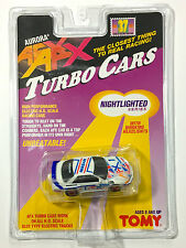 1996 TOMY Turbo AFX NISSAN CALSONIC GTR #1 Slot Car #8978 Rare Sealed Card Lit!