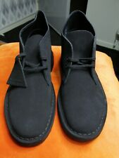 Men's Clarks Originals Uk6 Black Suede Desert Boots