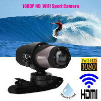 1080P Full HD 12MP Wifi Sport Action Camera DVR Camcorder Waterproof Helmet DV