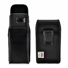 Galaxy S7 Edge Holster Black Belt Clip Otterbox Case Leather Vertical Turtleback