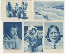 More details for christianity arctic mission to the eskimo by s.p.g. 5 printed postcards c.1930