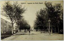 Cartolina Formato Piccolo - Aquila - Ingresso Da porta Napoli Viaggiata
