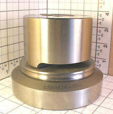 AMADA  THICK TURRET RT PUNCH .504 x 3.236; R=.125; &  +.004; DIE